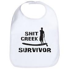 Shit Creek Survivor Bib