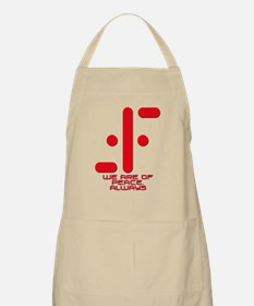 V We Are of Peace Always Apron