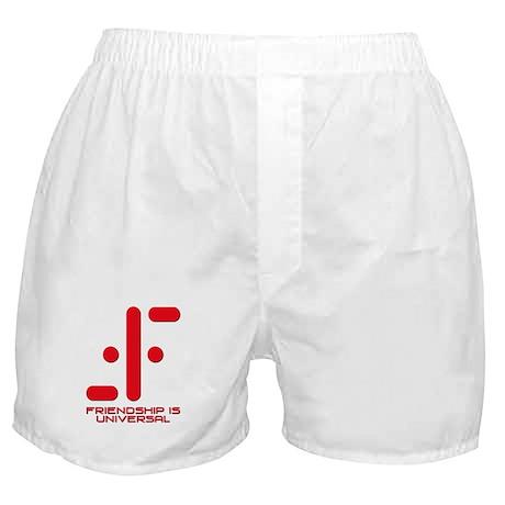 V Friendship is Universal Boxer Shorts