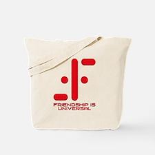 V Friendship is Universal Tote Bag