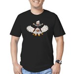 Keydar and Gryphon Men's Fitted T-Shirt (dark)
