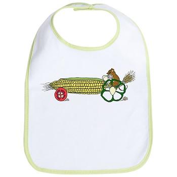 Mouse's Veggie Tractor Bib