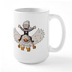 Keydar and Gryphon Large Mug