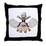 Keydar and Gryphon Throw Pillow