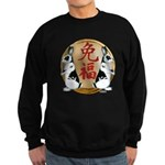 Year of the Rabbit Good Luck Sweatshirt (dark)