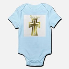 He is risen (cross) Infant Creeper