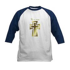 He is risen (cross) Tee