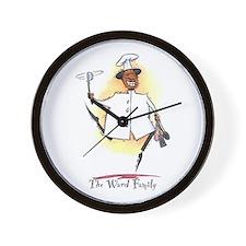 Ward Personalized Wall Clock