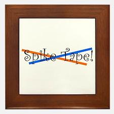 Spike Tape Framed Tile