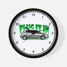 Leaf - Plug It In Wall Clock