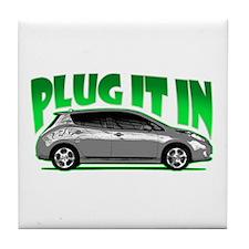 Leaf - Plug It In Tile Coaster