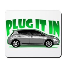 Leaf - Plug It In Mousepad