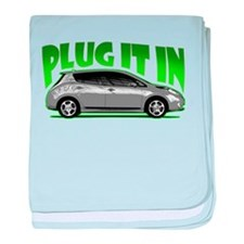 Leaf - Plug It In baby blanket