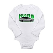 Leaf - Plug It In Long Sleeve Infant Bodysuit