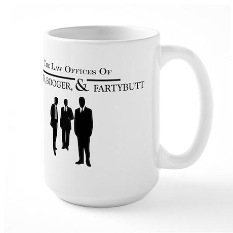 Booger Booger and Fartybutt Large Mug