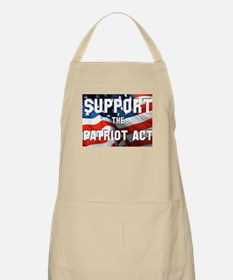 Support the Patriot Act BBQ Apron