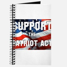 Support the Patriot Act Journal