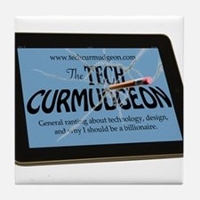 Tech Curmudgeon Tile Coaster