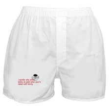 Engrish Coffee Boxer Shorts