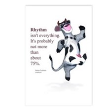 Rhythm Isn't Everything Postcards (Package of 8)