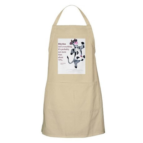 Rhythm Isn't Everything BBQ Apron