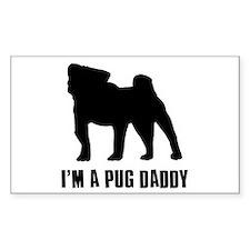i'm a pug daddy Decal