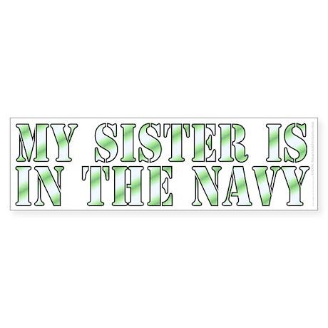 Military relatives series (bumper sticker 10x3)