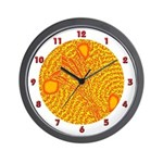 CRYSTAL MANDALA SERIES: Crystal Wall Clock Wall Cl