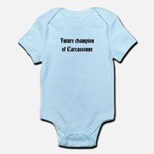 Future champion of Carcassonne Infant Bodysuit