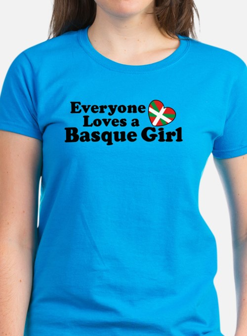 Everyone Loves a Basque Girl Tee