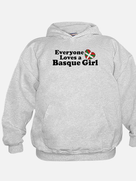 Everyone Loves a Basque Girl Hoodie