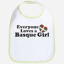 Everyone Loves a Basque Girl Bib
