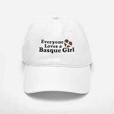 Everyone Loves a Basque Girl Baseball Baseball Cap