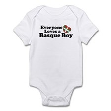 Everyone Loves a Basque Boy Infant Bodysuit