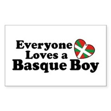 Everyone Loves a Basque Boy Decal