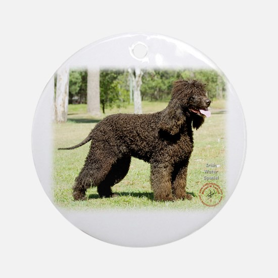 Irish Water Spaniel 9R032D-232 Ornament (Round)