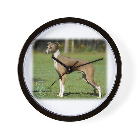 Italian Greyhound 9R031D-014 Wall Clock