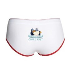 Chill Out Penguin Women's Boy Brief