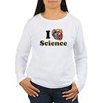 I Heart Science Women's Long Sleeve T-Shirt