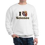 I Heart Science Sweatshirt