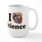 I Heart Science Large Mug