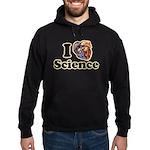 I Heart Science Hoodie (dark)