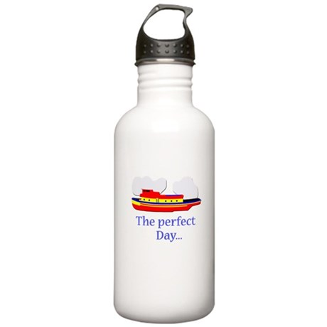 funny tugboat ship Stainless Water Bottle 1.0L