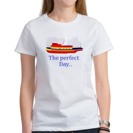 funny tugboat ship Women's T-Shirt
