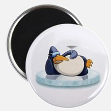 Chill Out Penguin Magnet