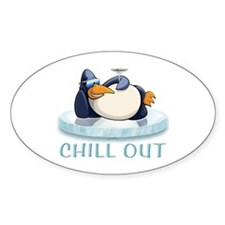 Chill Out Penguin Decal