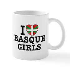 I Love Basque Girls Mug