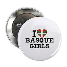 "I Love Basque Girls 2.25"" Button"