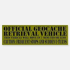Official Geocache Reteieval Bumper Stickers