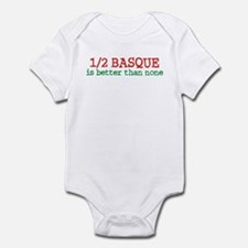 Half Basque Infant Bodysuit